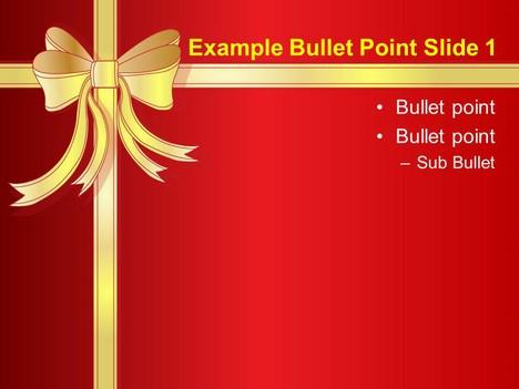 christmas present template