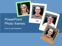 Photo Frames PowerPoint Template