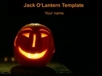Jack-O'-Lantern Background Template