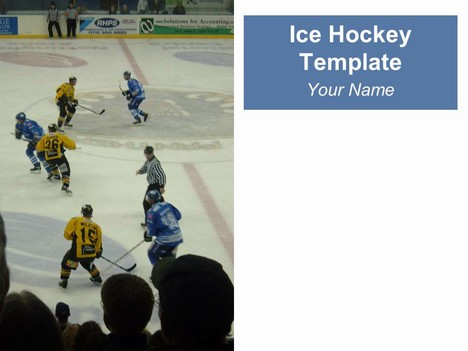 Ice Hockey Template