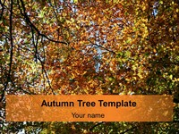 Autumn Tree Template