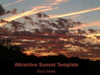 Attractive Sunset Template