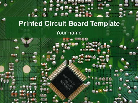 Printed Circuit Board Template