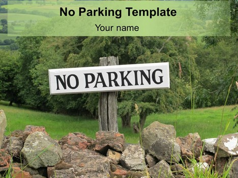 No parking template for No parking signs template