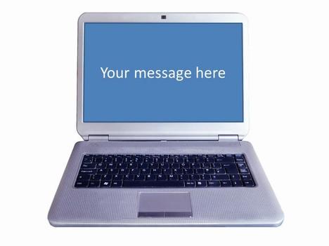 Laptop Computer Frames Template slide2 VClNzidR