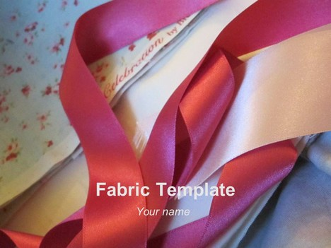 Fabric PowerPoint Template