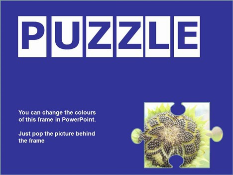 Transparent Puzzle Piece Template slide2