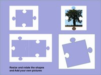 Transparent Puzzle Piece Template slide3