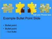 Transparent Puzzle Piece Template slide4