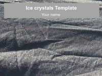 Ice Crystals Template