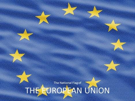 european union flag powerpoint template