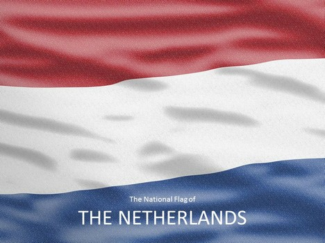 netherlands flag powerpoint template