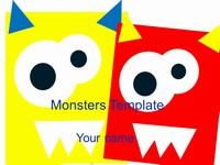 Monsters Template