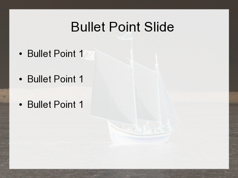 Moody Ship PowerPoint Template inside page