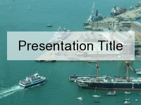 Maritime Navigation PowerPoint Template thumbnail