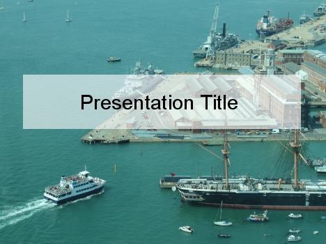 Maritime Navigation Powerpoint Template