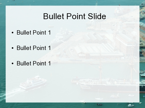 Maritime Navigation PowerPoint Template inside page