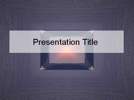 Purple crystal powerpoint template toneelgroepblik