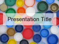 Bottle Top PowerPoint Template
