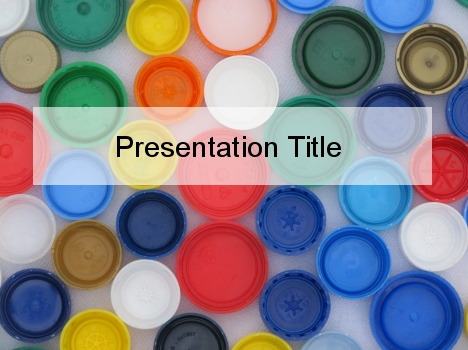 Bottle Top PowerPoint 템플릿