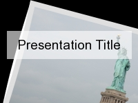 Liberty PowerPoint Template thumbnail