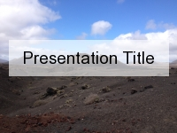 Volcanic Abyss PowerPoint Template