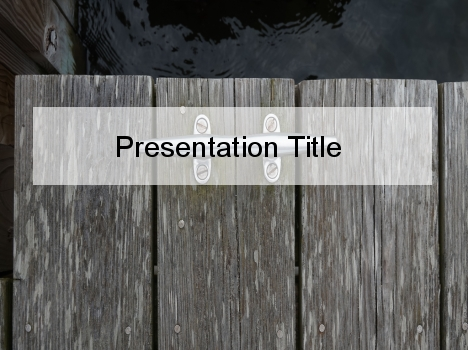 Vintage nautical powerpoint template toneelgroepblik