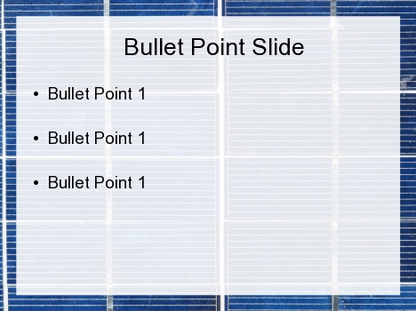 Blue Tile PowerPoint Template inside page
