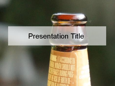 Beer bottle powerpoint template toneelgroepblik Images