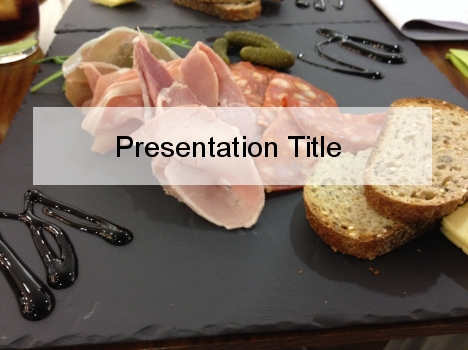 Light Meal PowerPoint Template