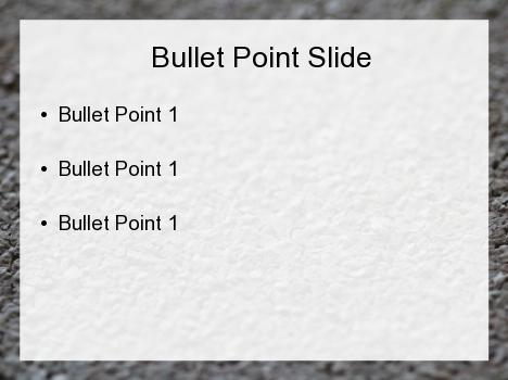 Fine Gravel PowerPoint Template inside page