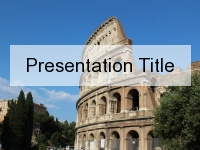 Colosseum PowerPoint Template