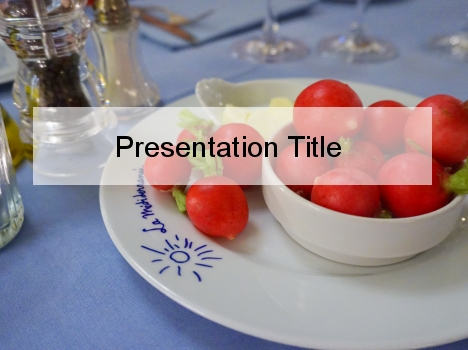 Red Radish PowerPoint Template