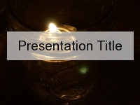 Oil Light PowerPoint Template