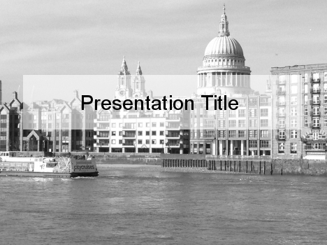 Moody London PowerPoint Template
