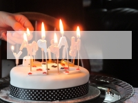 Birthday Cake PowerPoint Template thumbnail