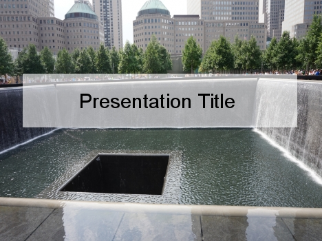 Ground Zero PowerPoint Template
