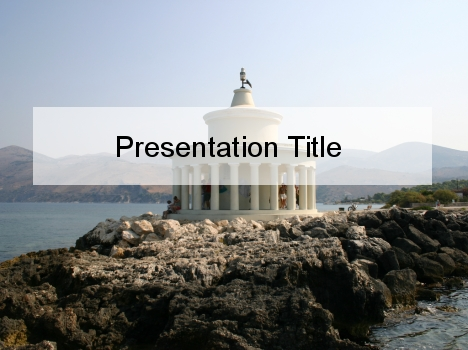 Archaic Temple PowerPoint Template