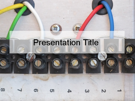 Electrical Wiring PowerPoint Template
