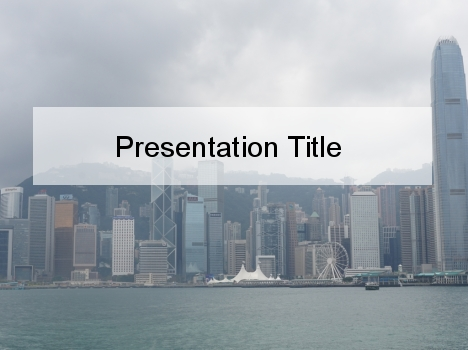 Hong Kong PowerPoint Template