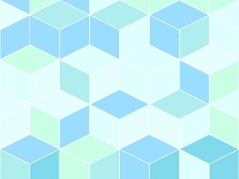 3d Cubes PowerPoint Template