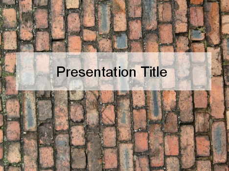 Old Brick PowerPoint Template