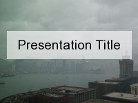 Kowloon Horizon PowerPoint Template