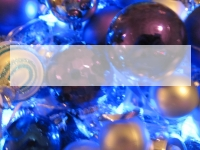 Xmas Baubles PowerPoint Template